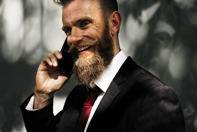 podnikatel s vousy