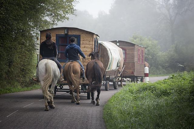 cikánská karavana
