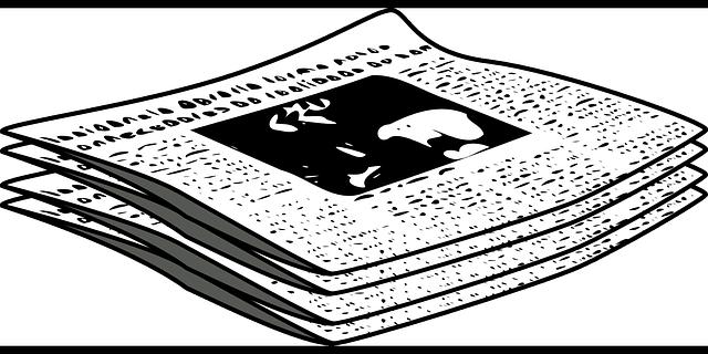 nakreslené noviny